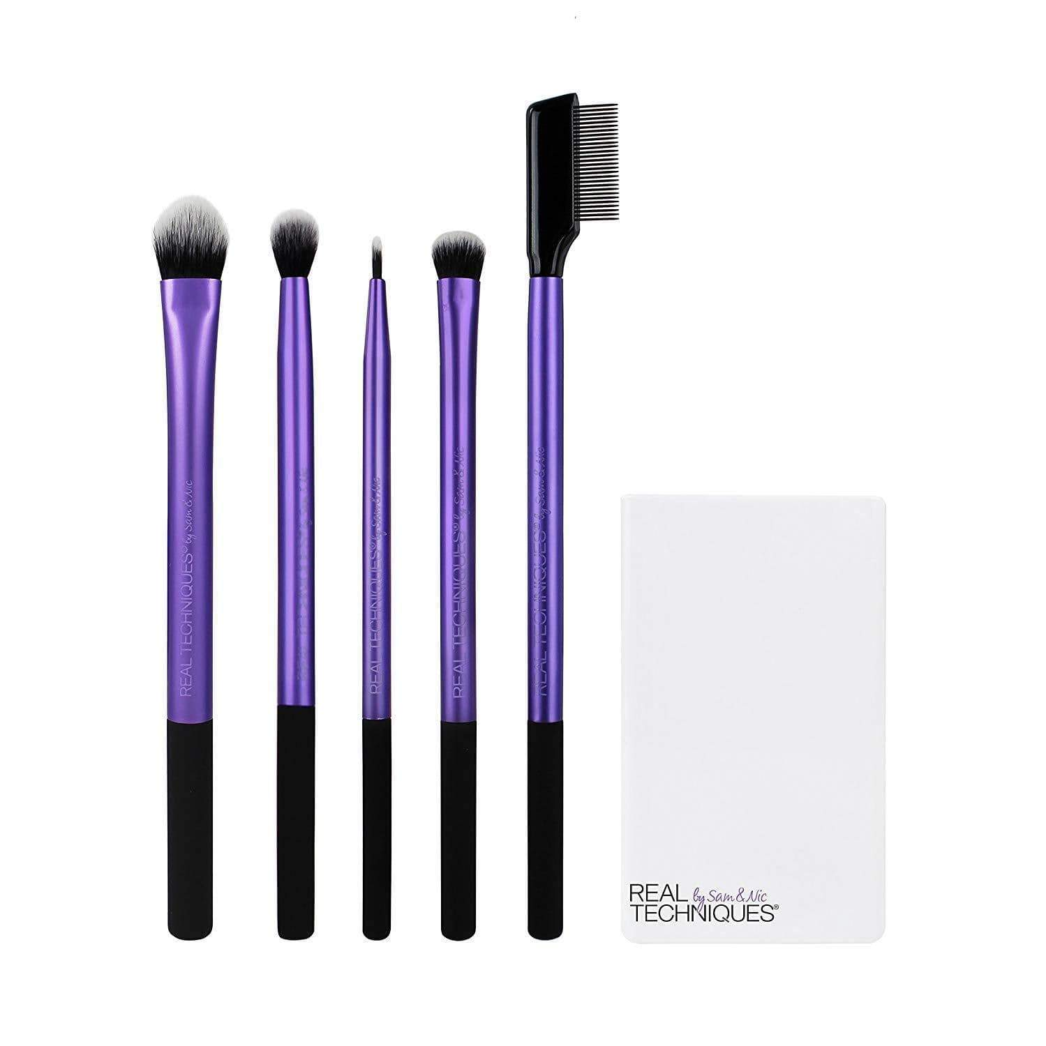Real Techniques brushes Real Techniques Enhanced Eye Set