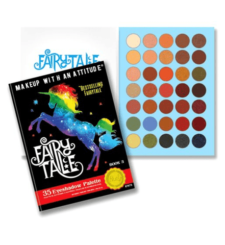 Rude Cosmetics eyeshadow palette Rude Cosmetics FAIRY TALE Eyeshadow Palette - Book 3