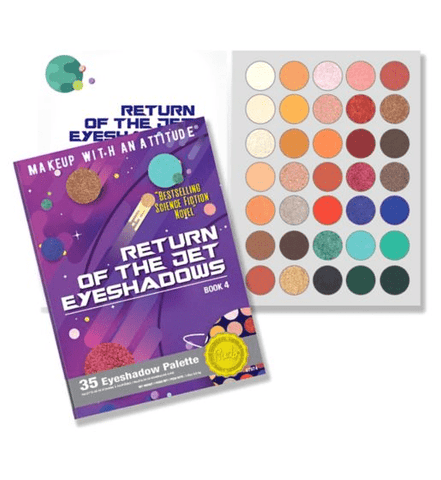 Rude Cosmetics eyeshadow palette Rude Cosmetics RETURN OF THE JET Eyeshadow Palette - Book 4