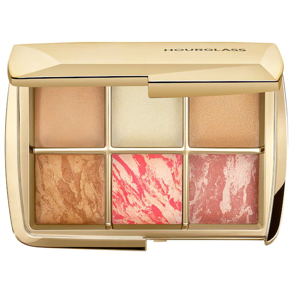 Hourglass Ambient Lighting Face Palette - Sculpture, Face set, London Loves Beauty