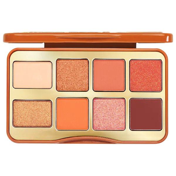 Too Faced Salted Caramel Mini Eye Shadow Palette, eyeshadow palette, London Loves Beauty