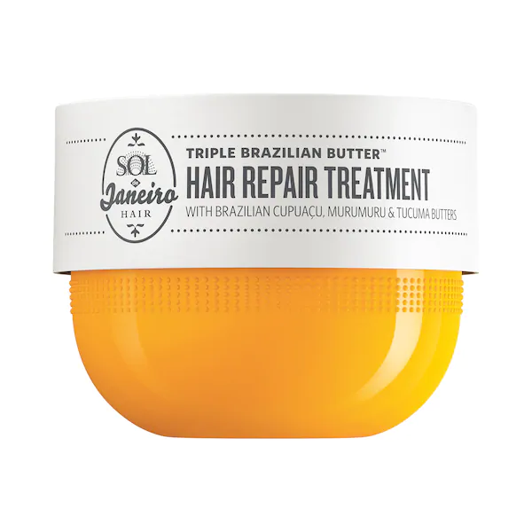Sol de Janeiro Triple Brazilian Butter Hair Repair Treatment Mask, 8.0 oz