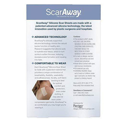 ScarAway Health Care ScarAway Silicone Scar Sheets (4 month supply)