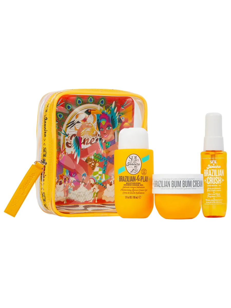 SOL DE JANEIRO Carnaval Flight Gift Set Limited Edition Set, Travel Kit, London Loves Beauty