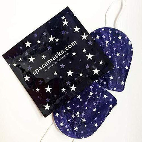 SPACEMASKS Self-Heating Eye Mask (single mask), eye mask, London Loves Beauty