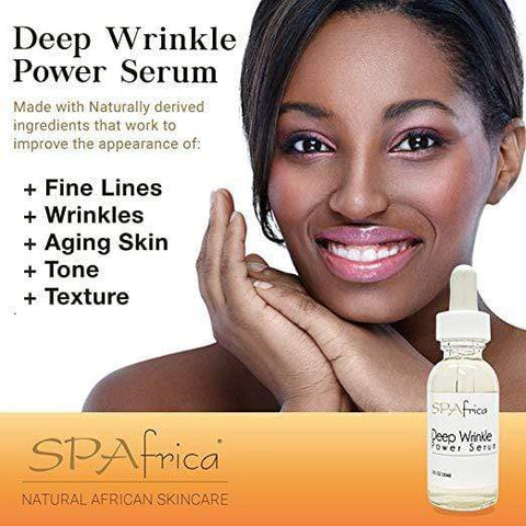 SPAfrica Skin Care SPAfrica Natural Skincare - Deep Wrinkle Power Serum, 30mL