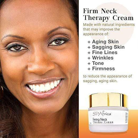 SPAfrica Skin Care SPAfrica Natural Skincare - Firming Neck Therapy Cream, 30g