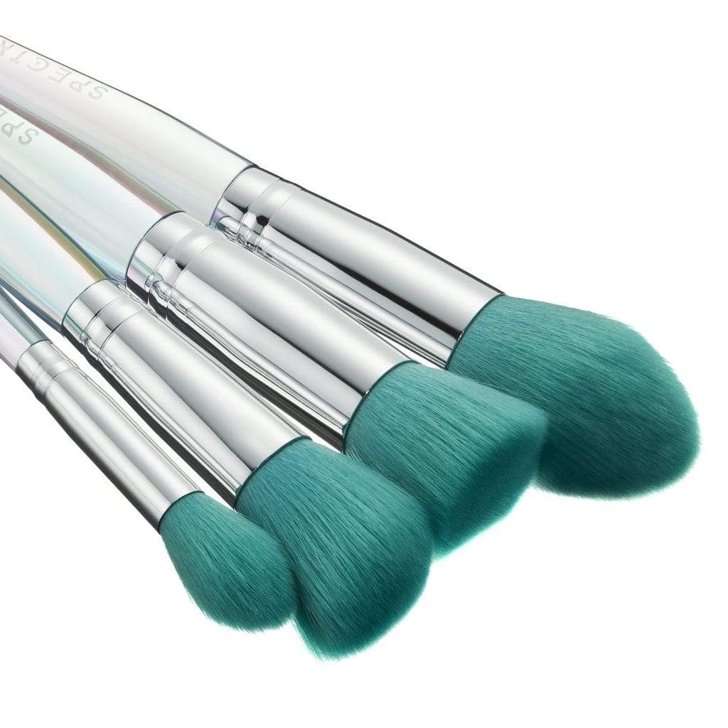 Spectrum Collections Oceana 4 Piece Face Set, Brush Set, London Loves Beauty