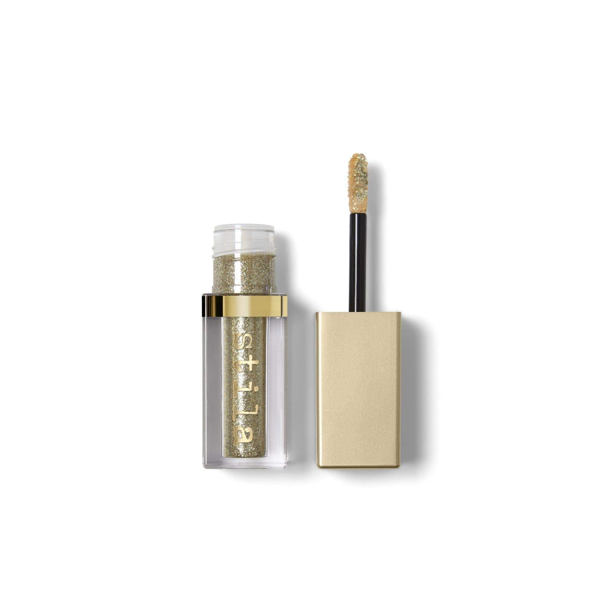 stila Magnificent Metals Glitter & Glow Liquid Eye Shadow- Gold Goddess, Eyeshadow, London Loves Beauty