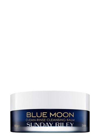 Sunday Riley Blue Moon Cleansing Balm, 100ml, cleanser, London Loves Beauty