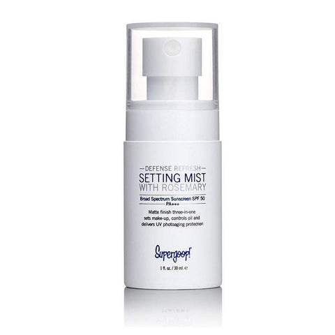 SUPERGOOP! Setting Spray SUPERGOOP! Defense refresh setting mist broad-spectrum SPF50 30ml