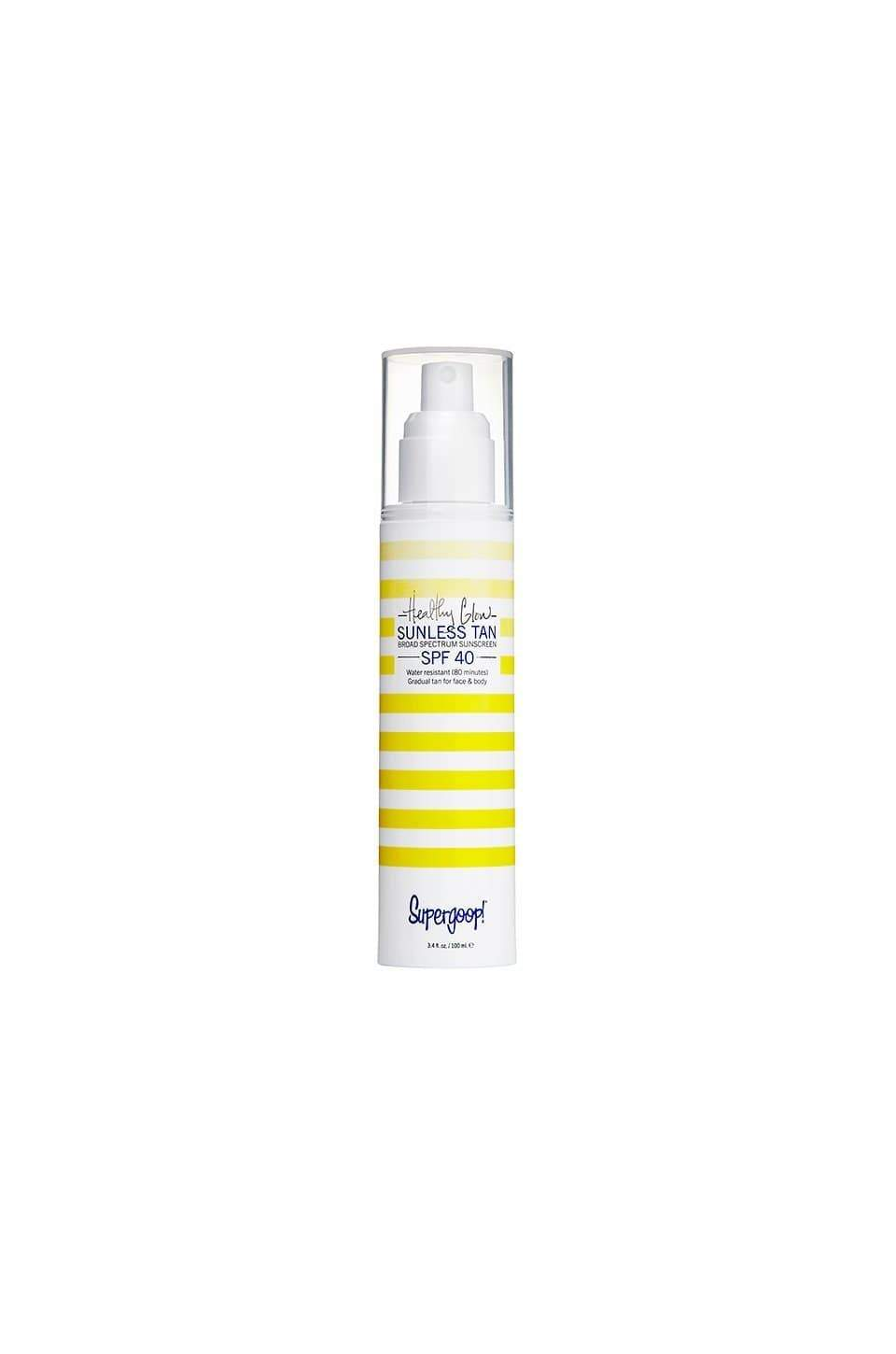 SUPERGOOP! tanning SUPERGOOP! Healthy glow sunless tan broad spectrum sunscreen SPF 40, 101ml