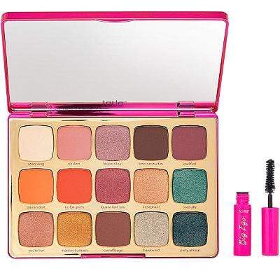 Tarte eyeshadow palette TARTE Unleashed Eyeshadow Palette & Travel-Size Big Ego Mascara