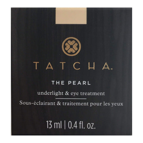 TATCHA The Pearl Tinted Eye Illuminating Treatment - Softlight - Medium, Eye Cream, London Loves Beauty