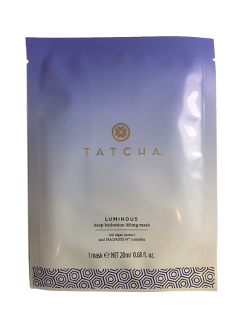 Tatcha Luminous Deep Hydration Lifting Mask, 1 x 20 ML | 0.68 FL. OZ., Face Masks, London Loves Beauty