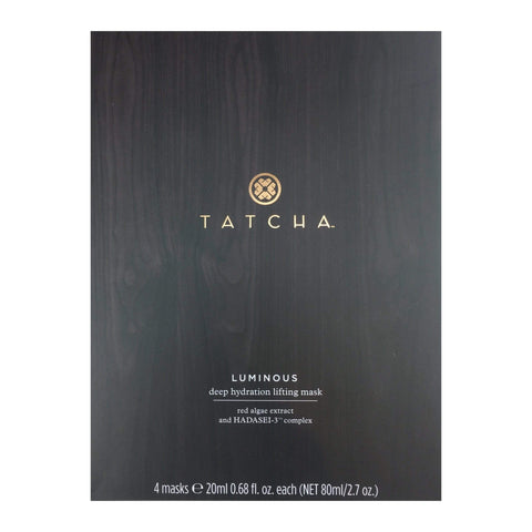 Tatcha Luminous Deep Hydration Lifting Mask, 4 x 20 ML | 0.68 FL. OZ., Face Masks, London Loves Beauty