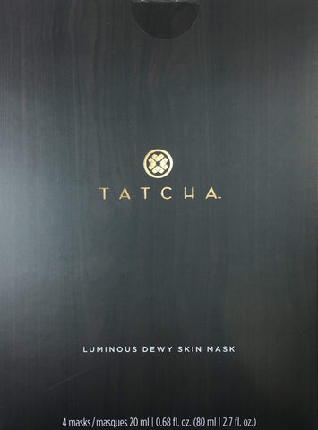 Tatcha Luminous Dewy Skin Mask, 4 x 20 ML | 0.68 FL. OZ, Face Masks, London Loves Beauty