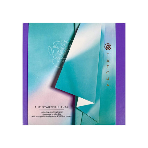TATCHA The Starter Ritual Balancing & Anti-Aging Set - Normal To Oily Skin, Gift Sets, London Loves Beauty