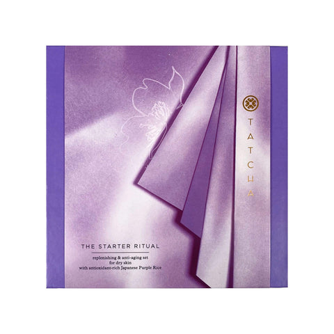 TATCHA The Starter Ritual Ultra-Hydrating & Anti-Aging Set - Dry Skin, Gift Sets, London Loves Beauty