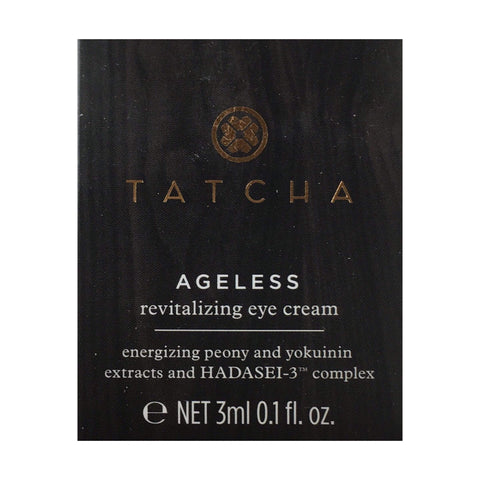 Tatcha Skin Care Tatcha Ageless Revitalizing Eye Cream Travel Size (3 ml | 0.1 fl. oz.)