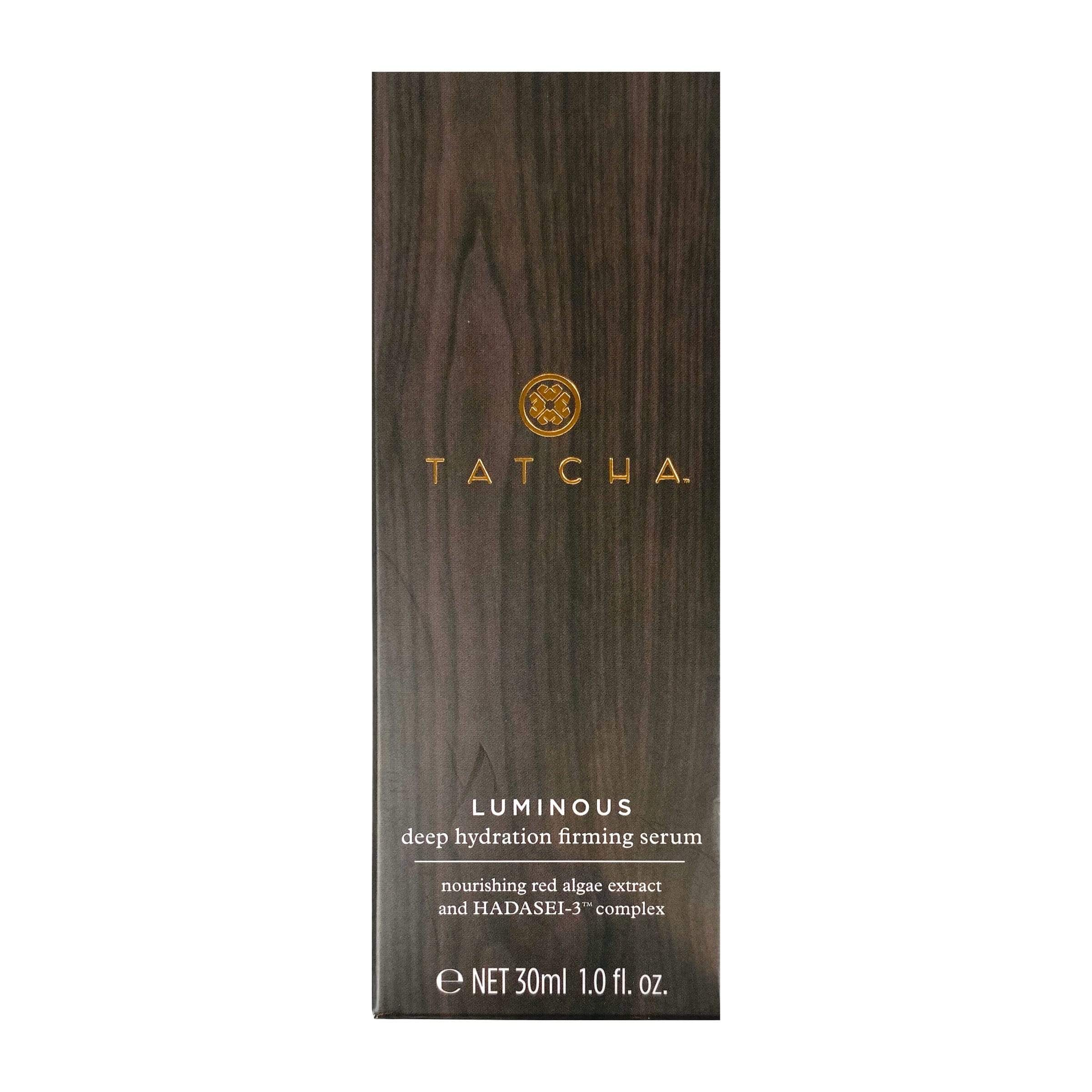 Tatcha Luminous Deep Hydration Firming Serum (30 ml | 1.0 fl. oz.), Skin Care, London Loves Beauty