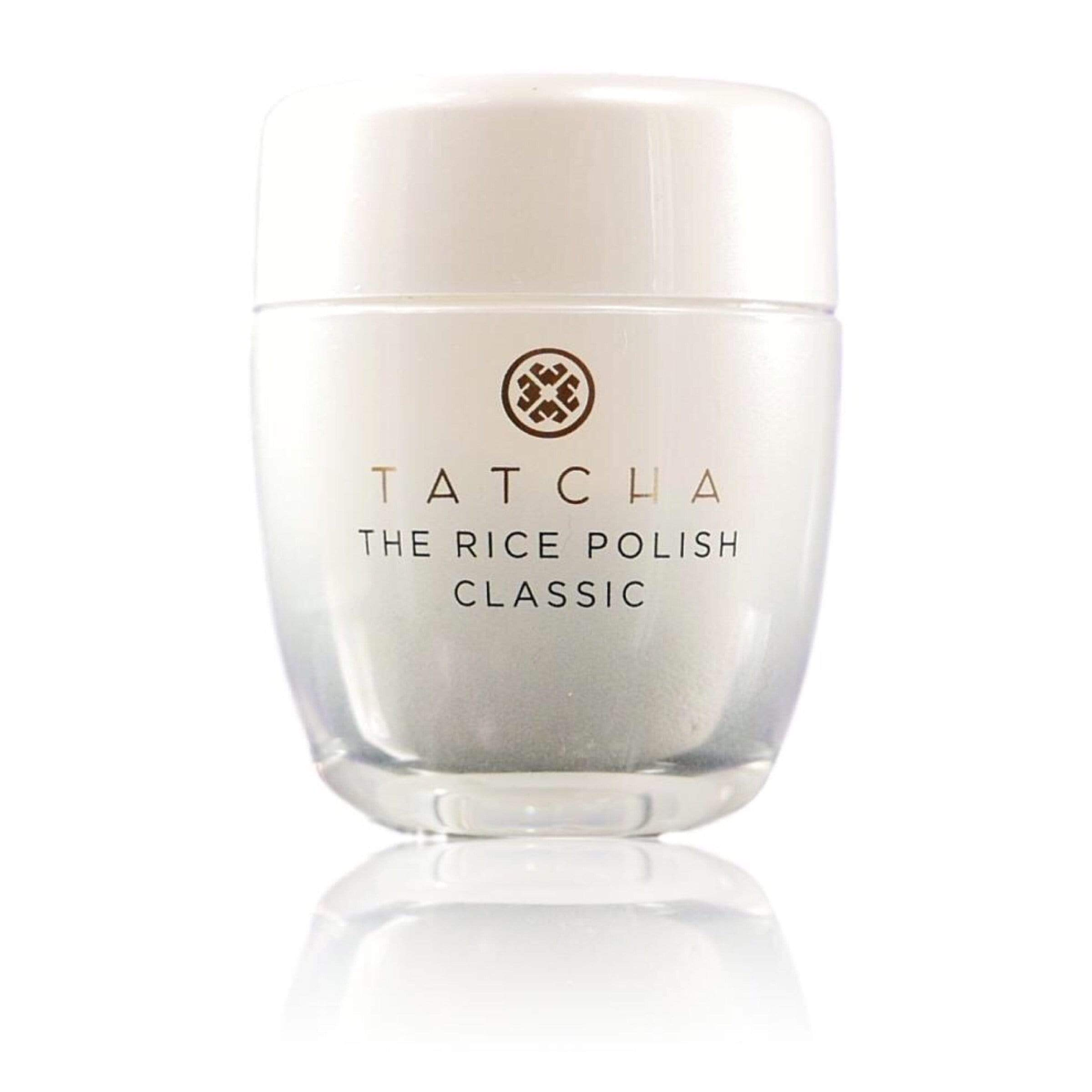Tatcha The Rice Polish - Classic Foaming Enzyme Powder Travel Size - Normal to Dry, 0.35oz | 10g, Skin Care, London Loves Beauty