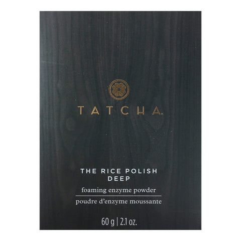 TATCHA The Rice Polish Deep Foaming Enzyme Powder - Normal To Oily, 60g | 2.1oz, Skin Care, London Loves Beauty