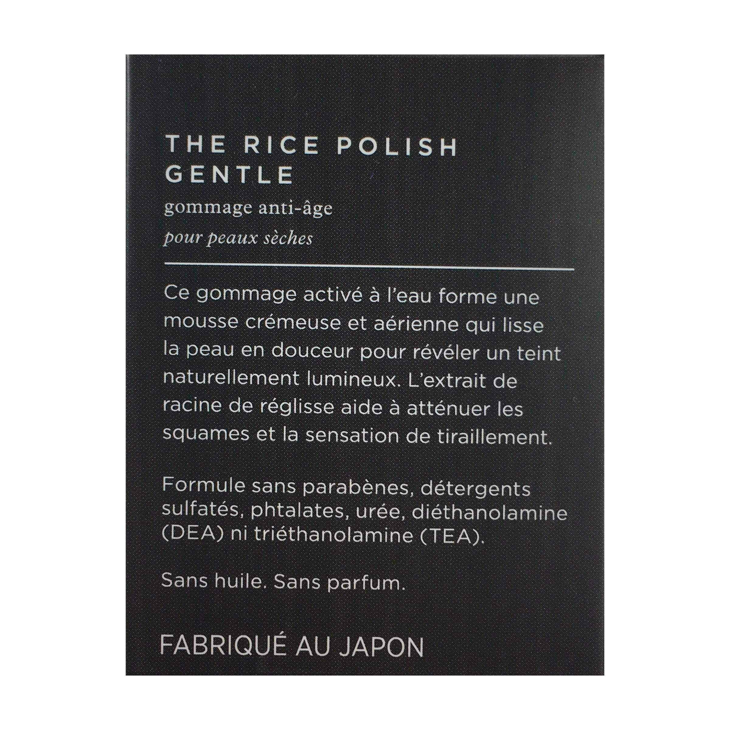 TATCHA The Rice Polish Gentle Foaming Enzyme Powder Travel Size - Dry, 10g | .35oz, Skin Care, London Loves Beauty