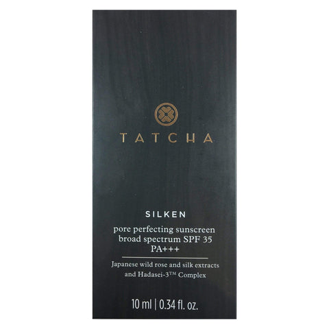 Tatcha Silken Pore Perfecting Sunscreen Broad Spectrum SPF 35 PA+++, sunscreen, London Loves Beauty