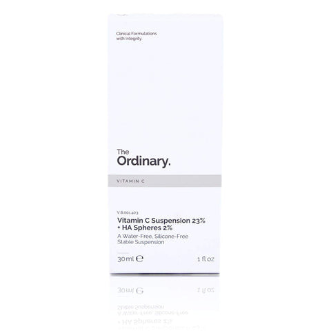 The Ordinary Vitamin C Suspension 23% + Ha Spheres 2%, 30ml, anti-ageing cream, London Loves Beauty