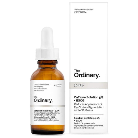 The Ordinary Caffeine Solution 5% + EGCG, 30ml, eye serum, London Loves Beauty