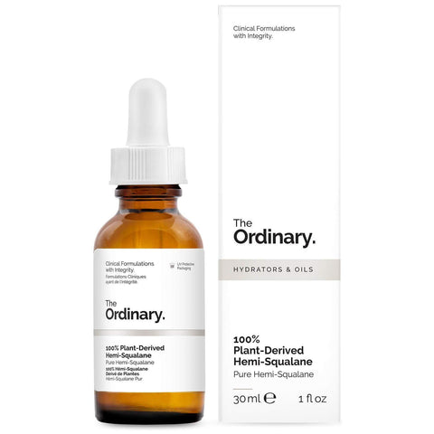 The Ordinary 100% Plant-Derived Hemi-Squalane, 30mL, Serum, London Loves Beauty