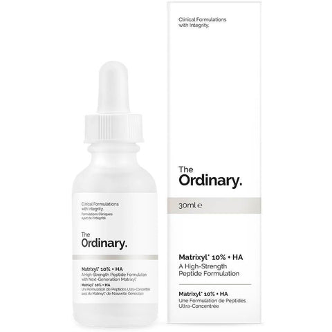 The Ordinary Matrixyl 10% + HA High Strength Peptide Formulation, 30ml, Skin Care, London Loves Beauty
