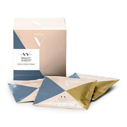 The Perfect V Beauty Sheets THE PERFECT V VV Beauty Sheets x 14