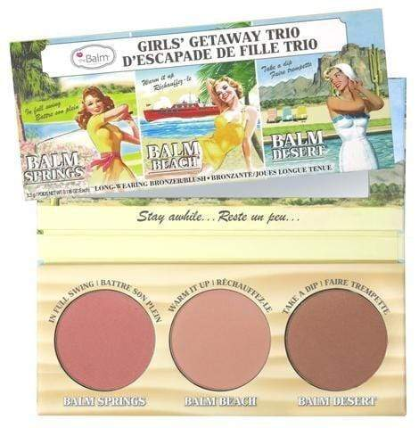theBalm Girls Getaway Trio, Cheek Palette, London Loves Beauty