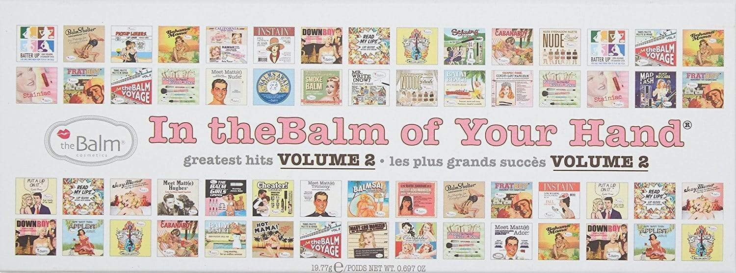 theBalm In of Your Hand Vol. 2 Palette, eyeshadow palette, London Loves Beauty