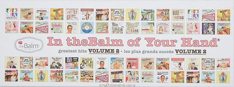 theBalm Cosmetics eyeshadow palette theBalm In of Your Hand Vol. 2 Palette