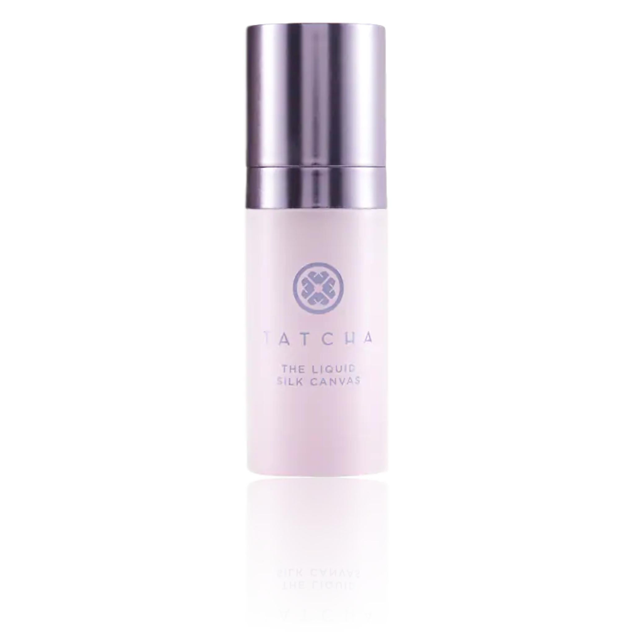 TATCHA Mini Liquid Silk Canvas Featherweight Protective Primer, 0.35 oz | 10g, primer, London Loves Beauty