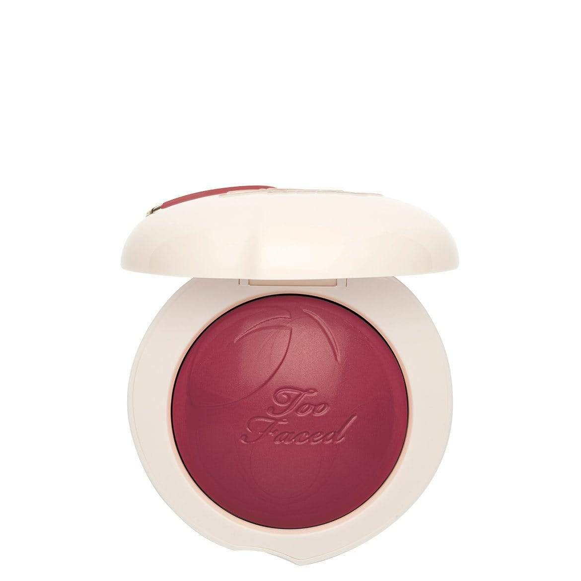 Too Faced Peach My Cheeks Melting Powder Blush – Peaches and Cream Collection: Peach Berry, Blush, London Loves Beauty
