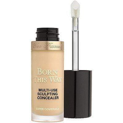 Too Faced Born This Way Super Coverage Multi-Use Sculpting Concealer - Light Beige, Concealer, London Loves Beauty