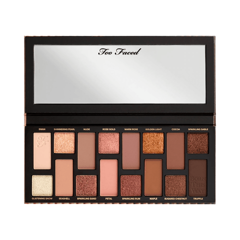 Too Faced eyeshadow palette TOO FACED Born This Way The Natural Nudes Eyeshadow Palette
