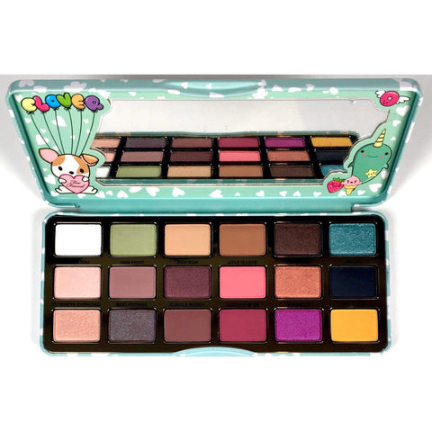 Too Faced Clover Eyeshadow Palette, eyeshadow palette, London Loves Beauty