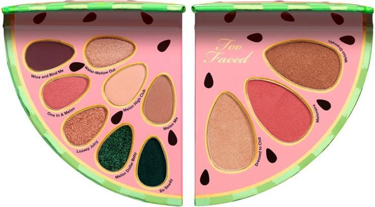 Too Faced eyeshadow palette TOO FACED Tutti Frutti Watermelon Slice Face and Eye Palette