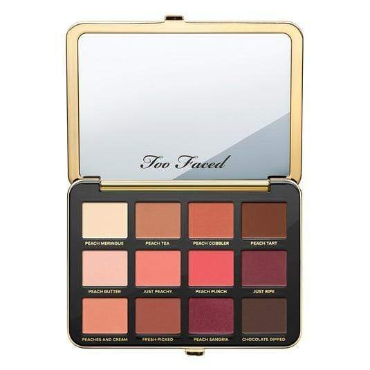 Too Faced Just Peachy Velvet Matte Eye Shadow Palette – Peaches and Cream Collection, eyeshadow, London Loves Beauty