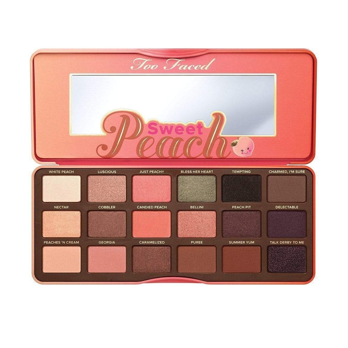 Too Faced Sweet Peach Eye Shadow Collection, eyeshadow, London Loves Beauty