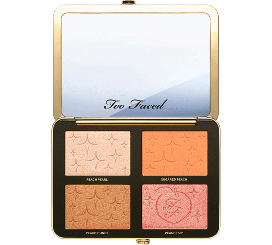 TOO FACED Sugar Peach Wet and Dry Face & Eye Palette - Peaches and Cream Collection, Face Palette, London Loves Beauty
