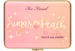 Too Faced Face Palette TOO FACED Sugar Peach Wet and Dry Face & Eye Palette - Peaches and Cream Collection