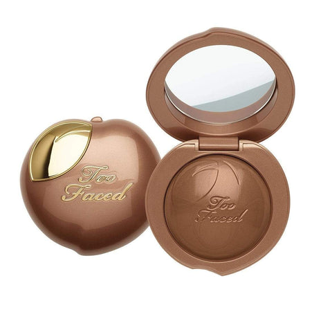 Too Faced Finishing Powder Too Faced Bronzed Peach Melting Powder Bronzer – Peaches and Cream Collection - Toasted Peach