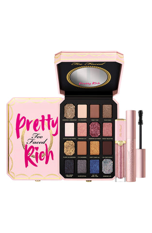 TOO FACED Pretty, Sexy, Rich Luxury Makeup Set - Limited Edition, Gift Sets, London Loves Beauty