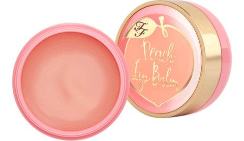 TOO FACED Peach Mega Moisture Lip Balm - Peaches and Cream Collection 4.5g, lip balm, London Loves Beauty